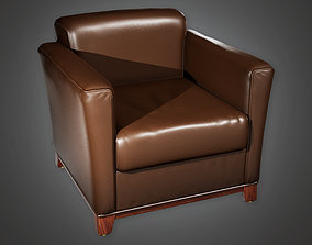 Bank Chair 4 BHE - PBR Game Ready 3D asset