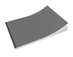 Brochure closed size A5 02 3D