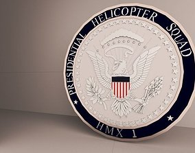 3D printable model Presidential Helicopter Squadron