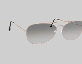 3D model Aviator Glasses