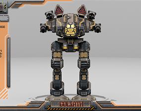 Goliath BattleMech 3D model