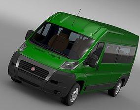 Fiat Ducato Maxi Bus L4H2 2006-2014 3D