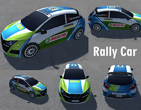 Rally Sports Vehicle Pack low-poly 3d cars game-ready