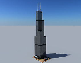 3D Sears Tower