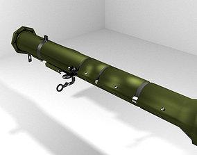 3D model Rocket Launcher - Shoulder-fired - AT-4