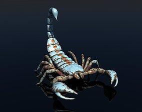 Scorpion animal 3D rigged