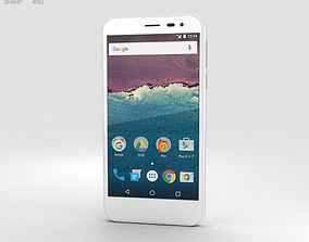 3D model Sharp Aquos 507SH White