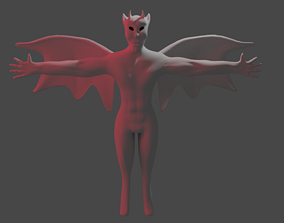 3D model MONSTER VILLAIN DEMON