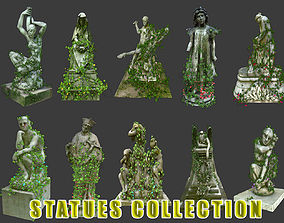 3D model Statues Collection 02