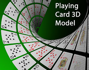 Poker Playing card 3D Model
