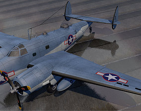 Lockheed PV-1 Ventura 3D model