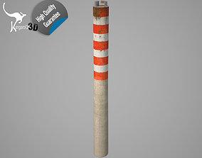 3D Industrial chimney - 01