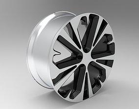 modern Car Rim 3D