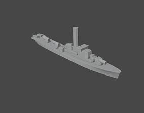 Russian Kronshtadt Class Submarine Chaser 3D print model