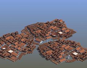 3D asset Ancient City