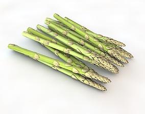 3D model realtime Asparagus