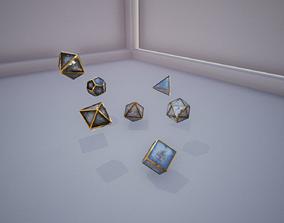 7 Die Set 3D model