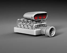 Motor blower 3D asset