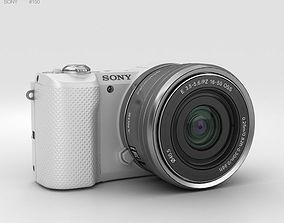 lens 3D Sony Alpha A5000 White