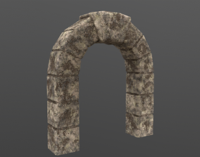 Old Arch 3D model game-ready