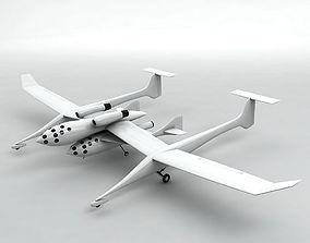 3D model SpaceShipOne