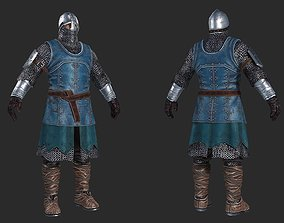3D model Medieval European soldiers Medieval Knight