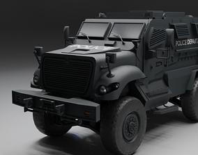 3D asset MAxxPro SWAT Vehicle