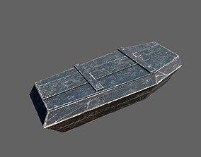 Coffins Pack 3D model
