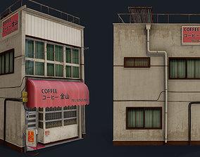 Coffee Shop of Kanayama 3D asset