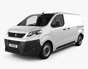3D model Peugeot Expert Panel Van L2 2019