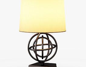Circles Table Lamp 3D model