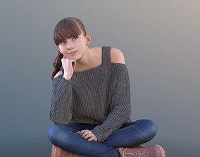 3D model Lisa 10728 - Sitting Casual Girl