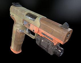 3D model FN Five-seveN gun