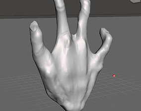 3D printable model Alien Hand