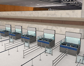Immigration Counter 3D