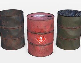 Barrels Asset 01 3D model