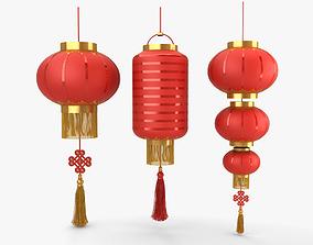 Chinese Lantern 3D model chinese