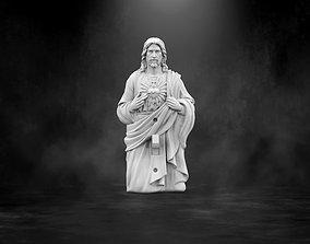 3D printable model Jesus light switch cover