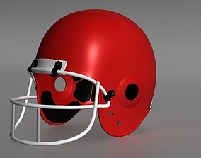 Gridiron Helmet 3D print model