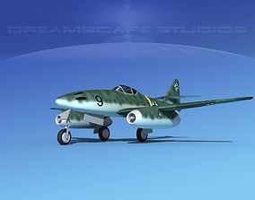 3D model Messerschmitt ME-262A1 Swallow V02