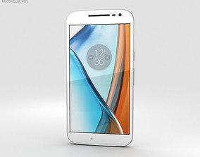 3D model Motorola Moto G4 White