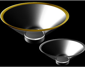 Metal Line Bowl 02 3D model