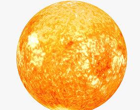 3D model Lowpoly Sun