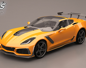 Chevrolet Corvette ZR1 coupe 3D model