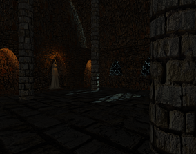 3D Crypt on the theme of games various
