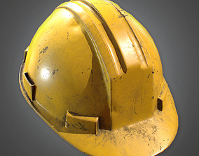 Hard Hat Construction 3D model
