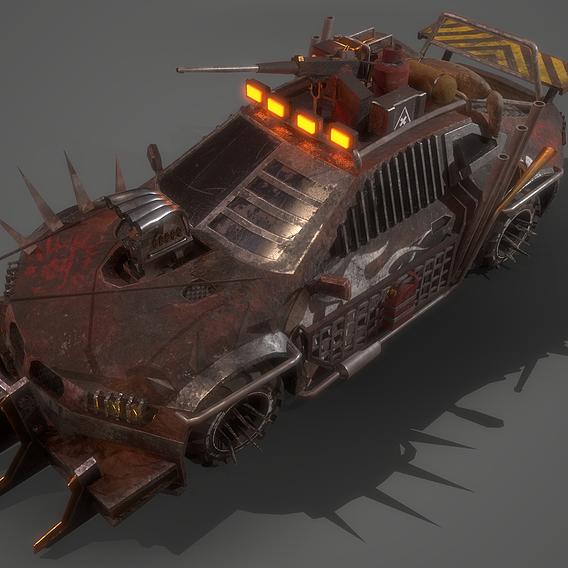 Apocalyptic Car 01