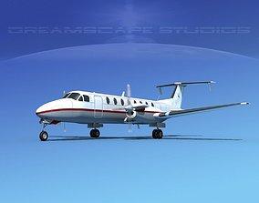 Beechcraft B1900C V01 3D model