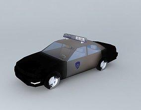 3D City Police Car