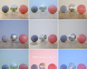 3D model HDRi Vol 7 Skybox Collection